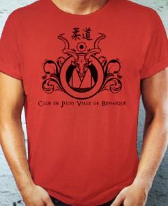 Camiseta del Club de Judo de Benasque