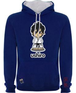 Sudadera Azul Ushiro
