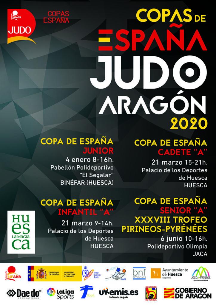 COPAS DE ESPAÑA DE ARAGÓN DE JUDO